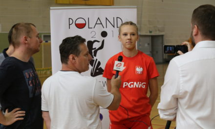 Magda Więckowska: Michał Jurecki is my role model. I will try to gear on like him!