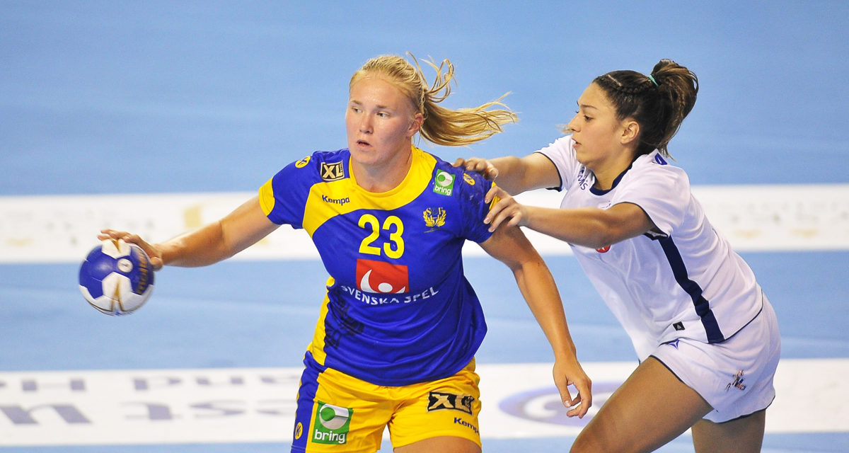 First victory for Sweden after one-sided match