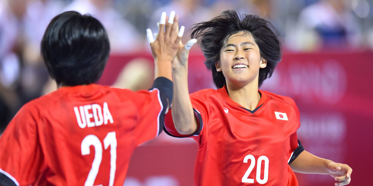 Japan with promotion to next round after beating China