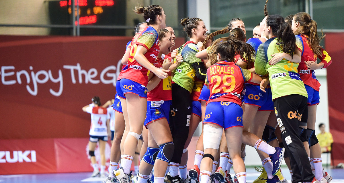 Big win and advance to quarterfinals for Spain