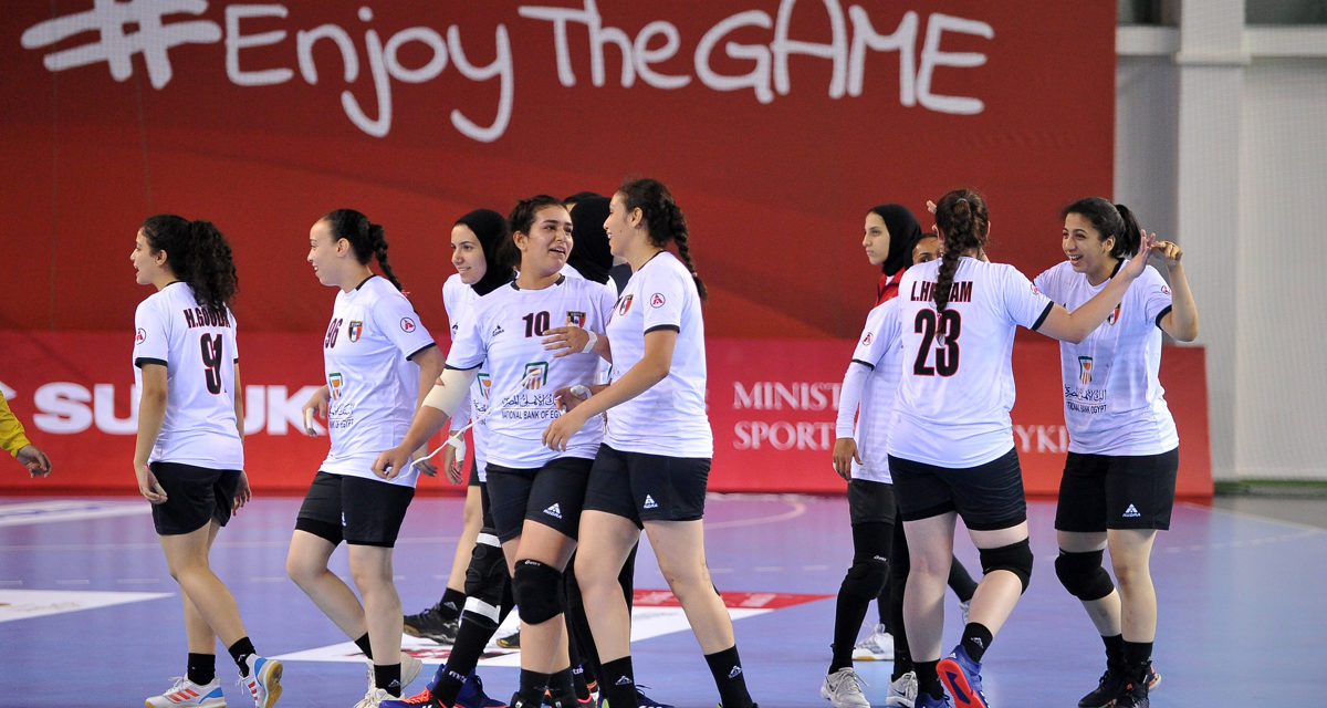 Egypt defeated Kazakhstan and took 23rd place in the tournament