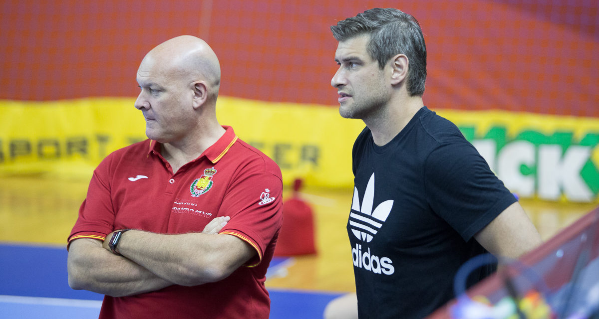 Julen Aginagalde visited the Polish and Spanish national teams